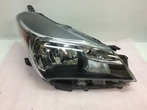 2015 2016 2017 Toyota Yaris Hatchback Right Headlight Halogen