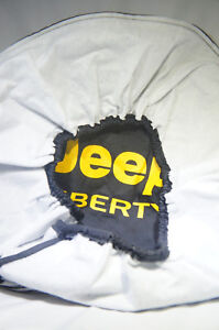 Sparecover Brawny Series Jeep Liberty 30 Tire Cover Yellow Logo L 39
