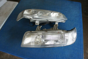 Jdm Honda Civic Ef2 Sh4 Kouki Headlights 1pc Piece 1 Conversion 90 91 Ef