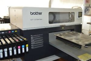 X2 Brother Gt 3 Series 381 Dtg Printer perfect Condition Without Printheads