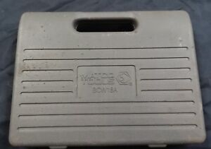 Matco Caliper Socket Set W Case