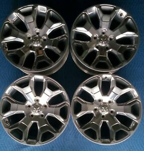 Dodge Ram 1500 Limited Oem 20 Wheels Pristine Condition