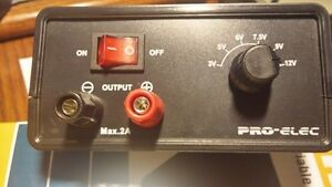 Dc Variable Switch Mode 2a Power Supply By Pro elec 28 2201