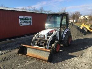2010 Bobcat Ct225 4x4 Hydro Compact Tractor W Loader Cab Coming Soon