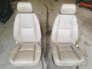 Escalade Yukon Front Driver And Passenger Tan Leather Bucket Seats 12 13 14