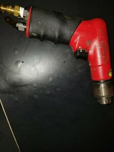 Sioux Tools 1410 Pistol Grip 2600 Rpm Air Drill With Chuck