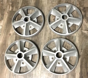 1969 1970 Shelby Gt 350 Gt 500 Mustang Factory 15 Alloy Wheel Center Set