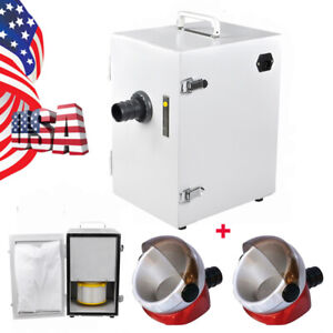 Usa Dental Dust Collector Vacuum Cleaner For Polishing Machine 2x Suction Base