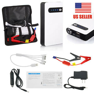 12v 20000mah Car Jump Starter Power Bank Vehicle Battery Booster Charger Yu Us