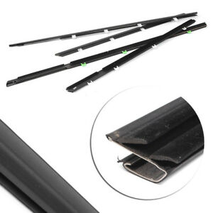 Window Moulding Weatherstrips Fl Fr Rl Rr For Civic 2012 2015 72410tr0a01 Auto