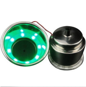 6 stainless Steel Cup Drink Holder Gree Led Built in For Marine Boat Truck