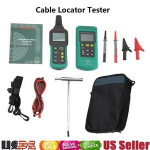 Ms6818 12v 400v Ac dc Underground Cable Wire Locator Tester Tracker Usa Shipping
