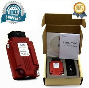 Newest Vcm Fvdi J2534 Diagnostic Tool For Mazda Ford Ids Forscan New Dhl