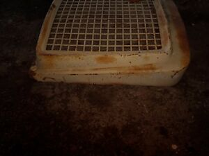Cockshutt 570 Diesel Grille Grill Radiator Cover Engine Front Tin