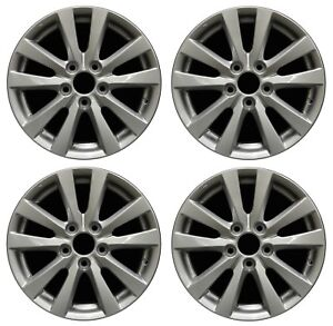 16 Honda Civic 2012 2013 2014 Factory Oem Rim Wheel 64024 Silver Set