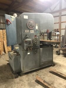 Doall Vertical Band Saw Model 2613 3