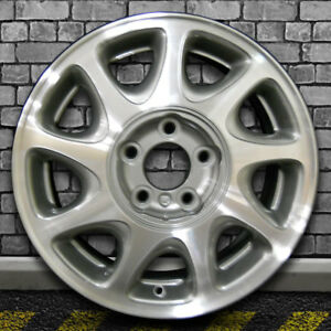 Machined Fine Metallic Charcoal Oem Wheel For 1997 2000 Buick Regal 16x6 5