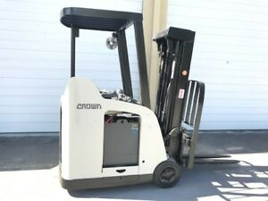 2007 Crown Electric Forklift 2014 Battery 10 577 Hrs Charger Available Rc5500