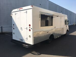 Mobile Kitchen Class 4 All New Stainless Steel Food Truck Catering Truck