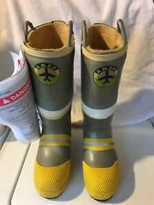 Aircraft Rescue Fire Fighter Arff Proximity Steel Toe Insulated Boots Nwt Mens 8