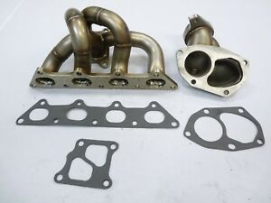 Stainless Turbo Header Manifold For 2003 2005 Mitsubishi Evo 8 2 0t By Obx R