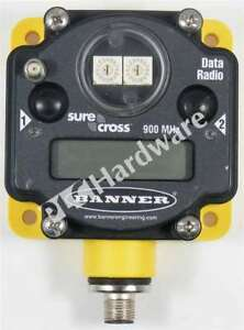 Banner Dx80dr9m Sure Cross Data Radio 900mhz Rs485 rs232 10 30v Dc Qty