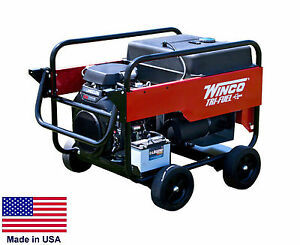 Portable Generator Tri Triple Fuel Ng Lp Gasoline Fired 12 Kw 120 240v