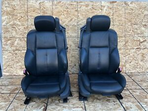 Bmw E64 04 10 645 650 Convertible Front Seats Seat Black Oem Complete