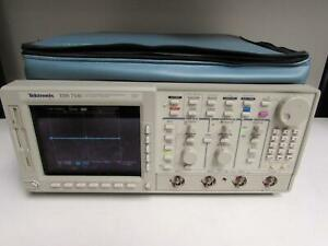 Tektronix Tds754c Color Oscilloscope 500mhz 2gsa s 4 Channels 05 13 1f 2f