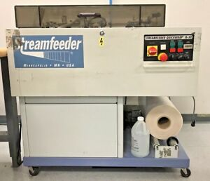 2003 Streamfeeder Quickwrap H 50 Reh Polybag System operational