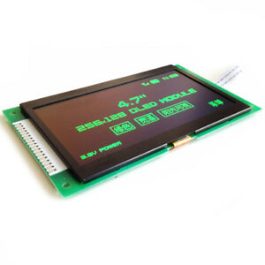 4 7 Inch Spi Green Oled Ssd1322 Drive Ic 256 128 8bit Parallel Interface New