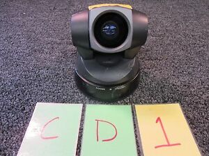 Sony Video Conference Ptz Camera Pan Tilt Zoom Evi d100 40x Zoom Color Used