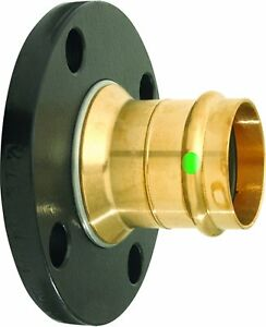 Viega 19713 Propress Bronze 2 piece Flange With 1 1 4 inch Flange X P