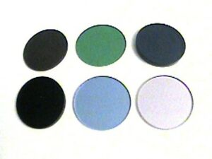 Ao American Optical Spencer Microscope 20 Series Set Of 6 Filters