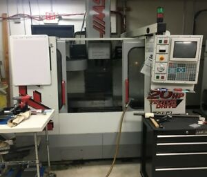 1999 Haas Vf 2 Vmc With Gearbox Pcool Chip Auger More