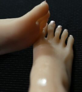 New Lifesize Realistic Silicone Foot Mannequin Fetish 1 Pair Jewelry Display 9