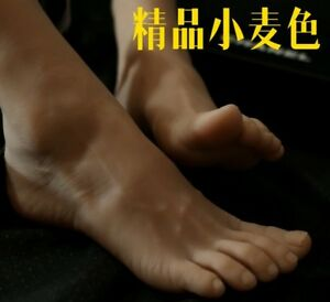 New Lifesize Realistic Silicone Foot Mannequin Fetish 1 Pair Jewelry Display 10