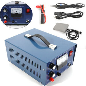 Jewelry Laser Welding Machine Electric Pulse Sparkle Spot Welder Platinum 400w