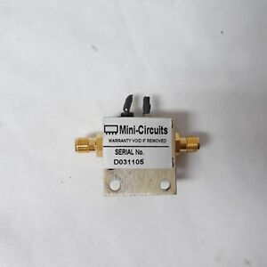 Mini circuits_zjl 6g Coaxial Amplifier 50 Low Power 20 To 6000 Mhz Sma