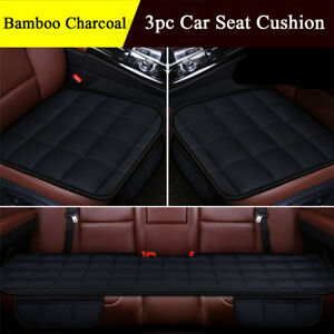 Universal Bamboo Charcoal Massage Car Seat Cushion Front Rear Car Chair Pad