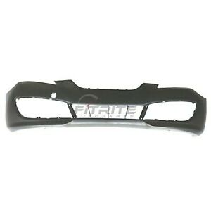 New Front Bumper Cover Primed For 2010 2012 Hyundai Genesis Coupe Hy1000180