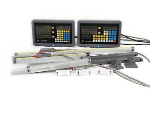 2 3 Axis Digital Readout Dro For Milling Lathe Machine Precision Linear Scales