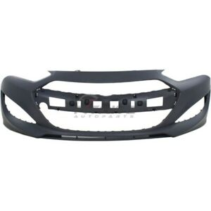 New Front Bumper Cover Primed For 2013 2016 Hyundai Genesis Coupe Hy1000197
