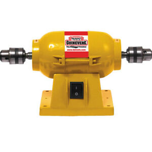 King Arthur s Tool Sanding Polishing Motor Small Quiet Double Chucks 11300 a