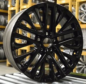 18 Lexus Es350 13 14 15 16 17 18 Factory Oem Rim Wheel 74278 Gloss Black Set