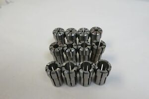 Da 100 Collet Set 125 500 12 Pieces