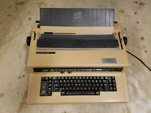 Vintage Silver reed Ex 55 Electric Electronic Typewriter Works Great