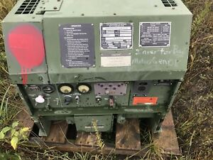 Fermont Mep 831a 3kw Diesel Generator Tactical Quiet Military Parts repair 2001