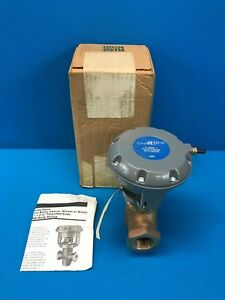 Johnson Control Cage Trim Cast Brass Valves Steam Or Water 1 2 Trough 1 1 2 In