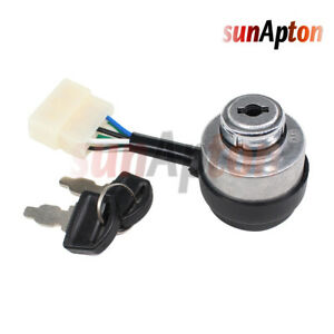 Ignition Switch For Honda Eu3000is Eu3000is1 Inverter 196cc 2 8kw 3kw 6 Wire Key
